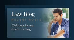 Click here to read my firm's blog.